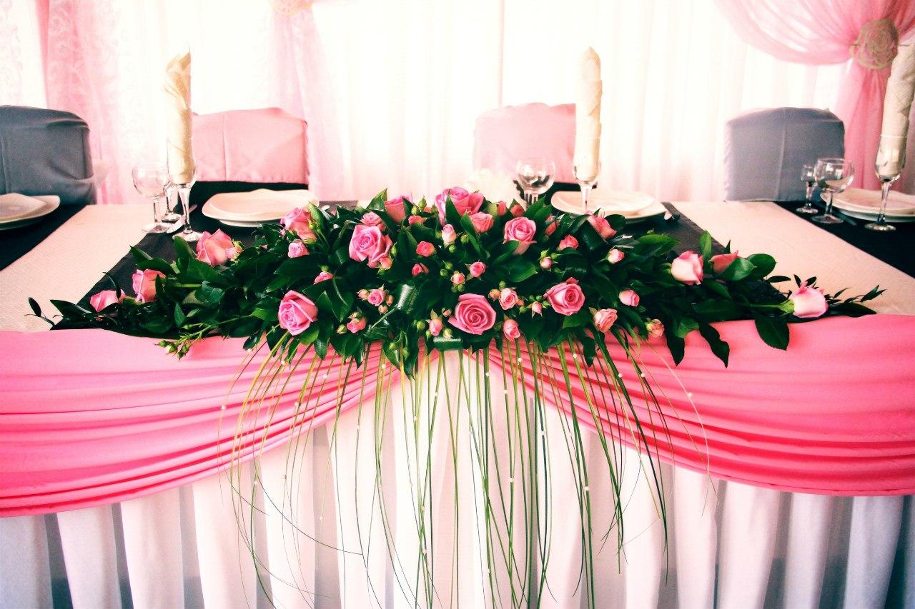 Фото оформления свадеб живыми цветами