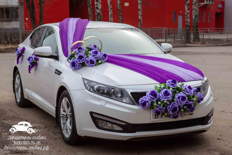 Украшение машины на свадьбу 2018 фото